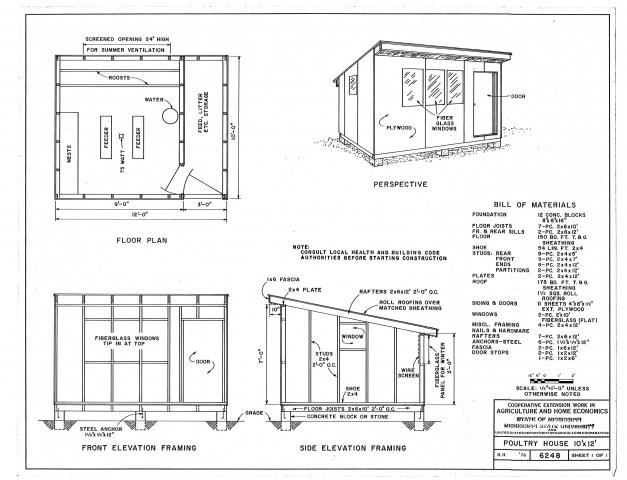 Free plans to make a chicken coop city chickens for Architecture interieur pdf